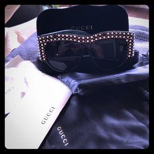 Beautiful Gucci crystal glasses